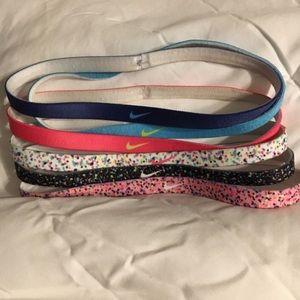 NWOT Bundle of 6 Nike Headbands